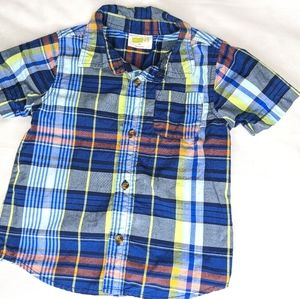 Boys Crazy 8 3T Button Down Shirt